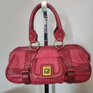 Kate Landry Red Satchel Bag NWOT
